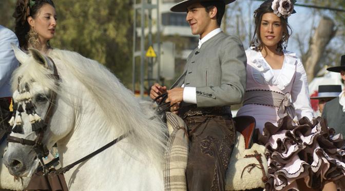 Feria de caballo en Jerez